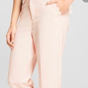 NWT Pink Slim Ankle Mid Rise size 10R